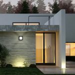 s.LUCE Cube LED-Aussenleuchte 20cm Wand oder Decke 12W / Schwarz – Bild 2