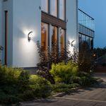Asti LED Aussen-Wandleuchte / 1400lm, 5000K / Anthrazit, opales Acrylglas – Bild 2