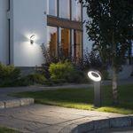 Asti LED Wegeleuchte / 1400lm, 5000K / Anthrazit, opales Acrylglas – Bild 2