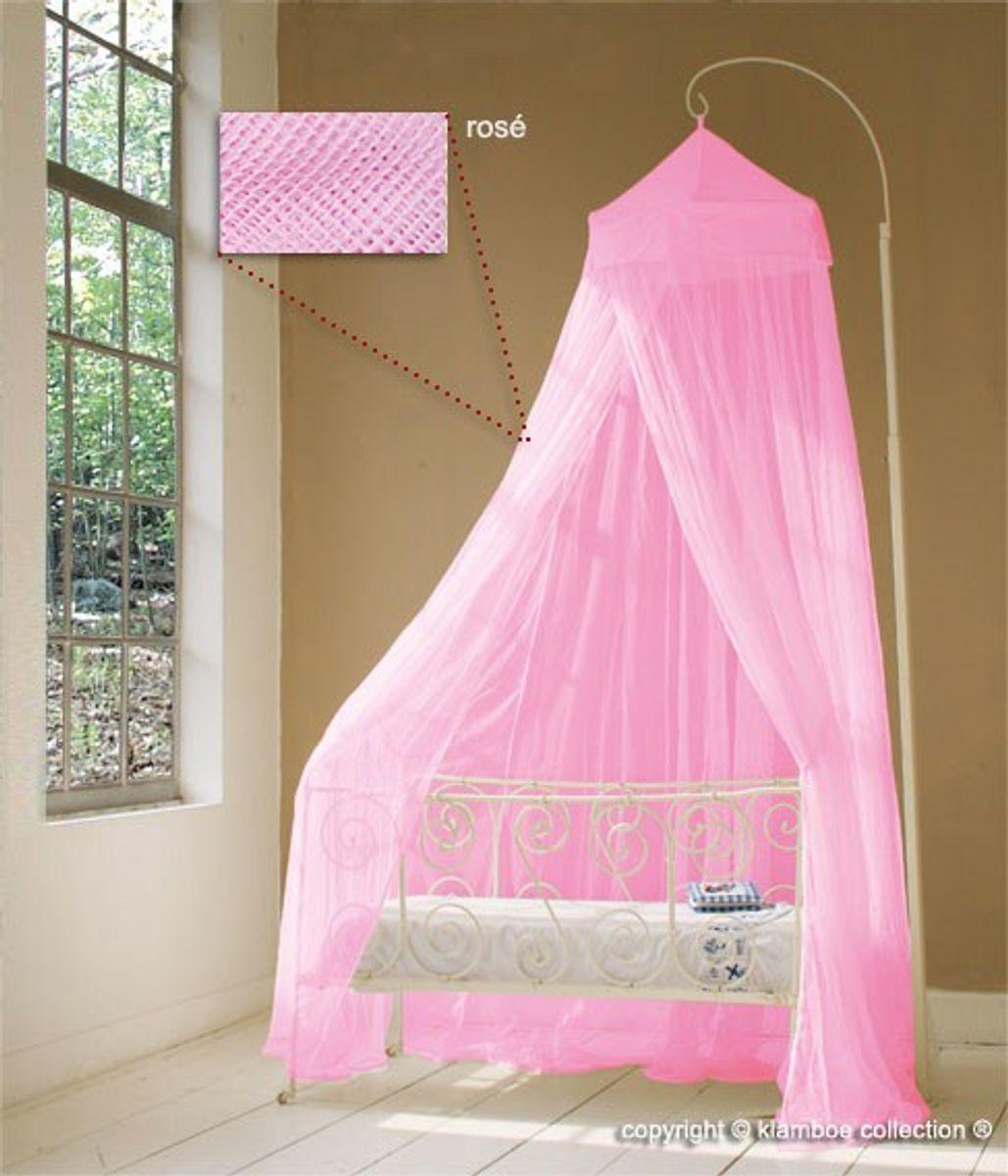Baldachin für Kinderzimmer in Rosa, Altrosa oder Pink, 60 cm x 240 cm