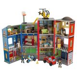 """Endlich! Ein Puppenhaus für Jungen, """"Helden des Alltags"""", von Kidkraft"""