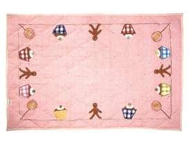 Krabbeldecke / Spieldecke / Bodenquilt, passend zu Spielhaus  Gingerbread  von Win Green, in 2 Grössen