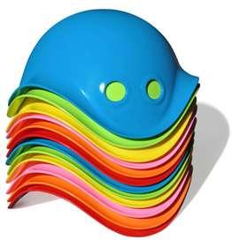 Ausgefallenes Spielzeug Bilibo für drinnen, draussen, Sandkasten, Wasser, Schnee..., in 6 Farben, von moluk