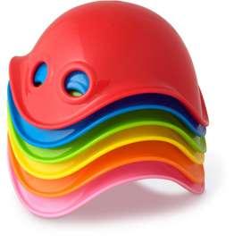 Ausgefallenes Spielzeug Bilibo Mini im 6er-Pack | Für drinnen und draussen, Sandkasten, Wasser, Schnee und vieles mehr, von moluk