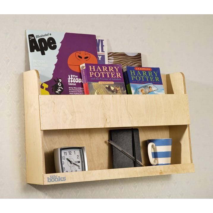 Wandregal bücher kinderzimmer  Aufbewahrung im Kinderzimmer mit Bücher Wandregal aus Holz von ...