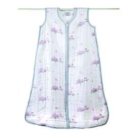 Kuscheliger Winterschlafsack, Babyschlafsack, Baumwollmull 4-lagig, Eule, rosa, 4 Größen, 0 bis 24 Monate, von aden + anais