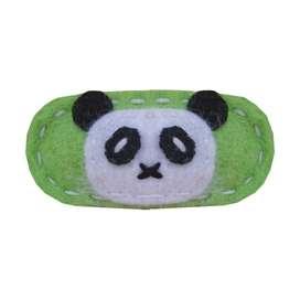 Wunderschöne Haarspange Panda von giddy giddy, aus Woll-Filz, für Big Girl