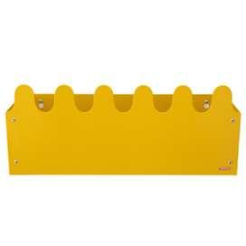 Aufbewahrung und Ablage Box, Wandaufbewahrung, Sinus Multi Box, gelb, von roommate