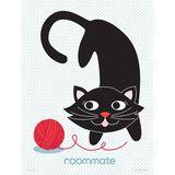 Kinderposter Best Friends  Cat , 30 x 40 cm, von roommate