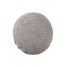 Zauberhaftes Kuschelkissen, Big Dot, hellgrau, 45 cm Durchmesser, von Lorena Canals