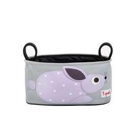 Wunderschöne und sehr praktische Kinderwagentasche, Hase, 16 x 32 x 12 cm, von 3 sprouts