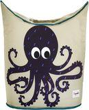 Aufbewahrung im Kinderzimmer | Wäschekorb Krake, von 3 sprouts, 59 x 48 x 33 cm