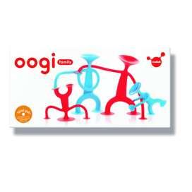 Ausgefallenes Spielzeug, Oogi Family Mix, rot und blau, ab 3 Jahre, von moluk