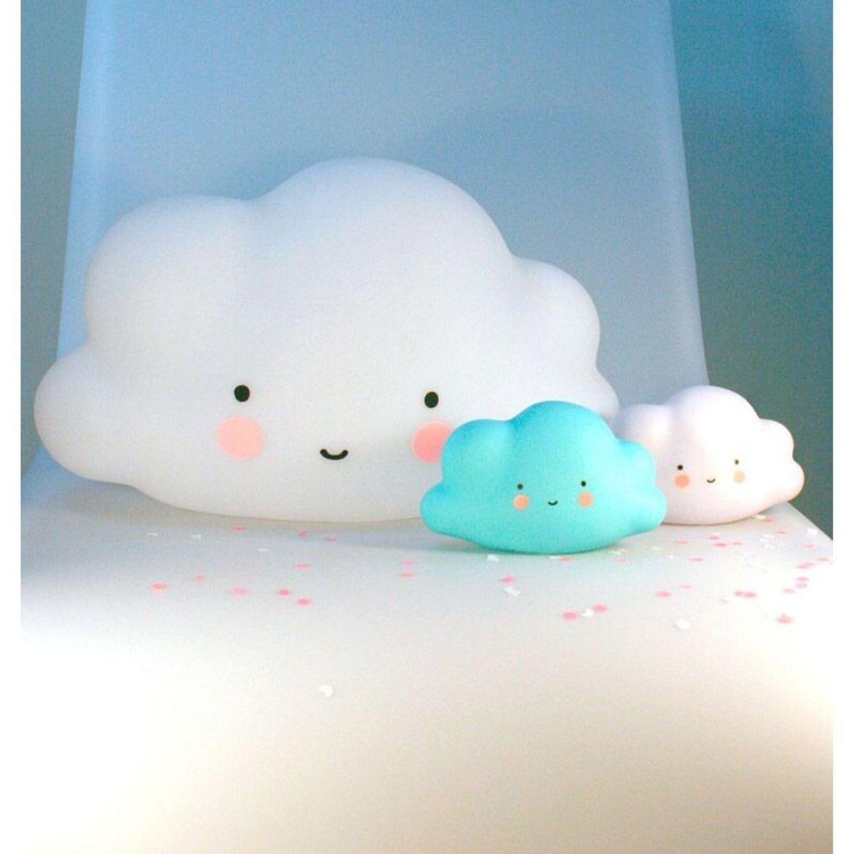 Nachtlicht Grosse Wolke Weiss A Little Lovely Company