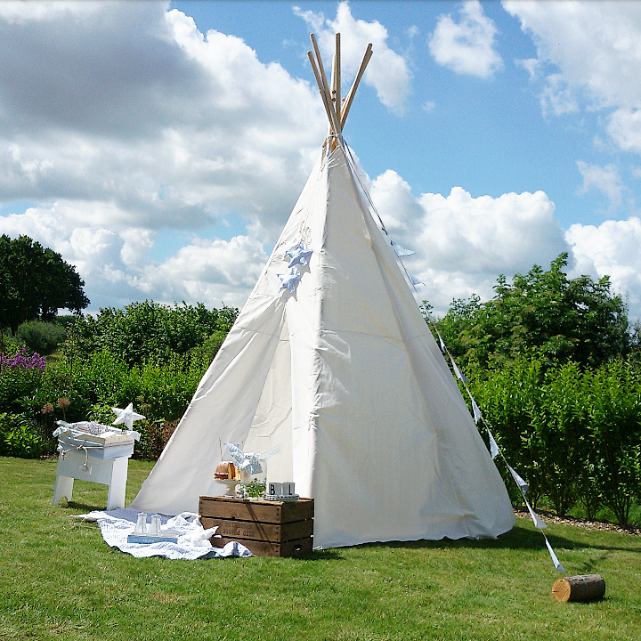 indianerzelt gro es tipi baumwolle eduplay. Black Bedroom Furniture Sets. Home Design Ideas