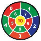Ganz besondere Zielscheibe, Sicherheitszielscheiben Set, mit 3 Scheiben und 9 Bälle, von Eduplay