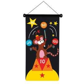 Magnetisches Dartspiel, groß, Zirkus,  von Scratch