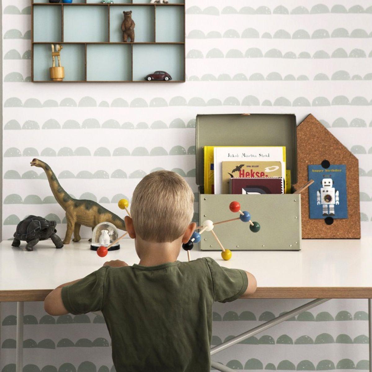 tapete halbmond mint von ferm living. Black Bedroom Furniture Sets. Home Design Ideas