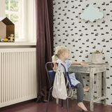 Kindertapete Rabbit, off-white, von Ferm Living