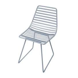 Me-Sit Metallstuhl, Grösse S, in Wolkenblau, von sebra
