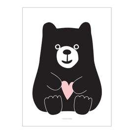 "Poster ""Bär"", aus Dänemark, A3, von roommate"