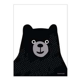 """Poster """"Schwarzbär"""", aus Dänemark, A3, von roommate"""