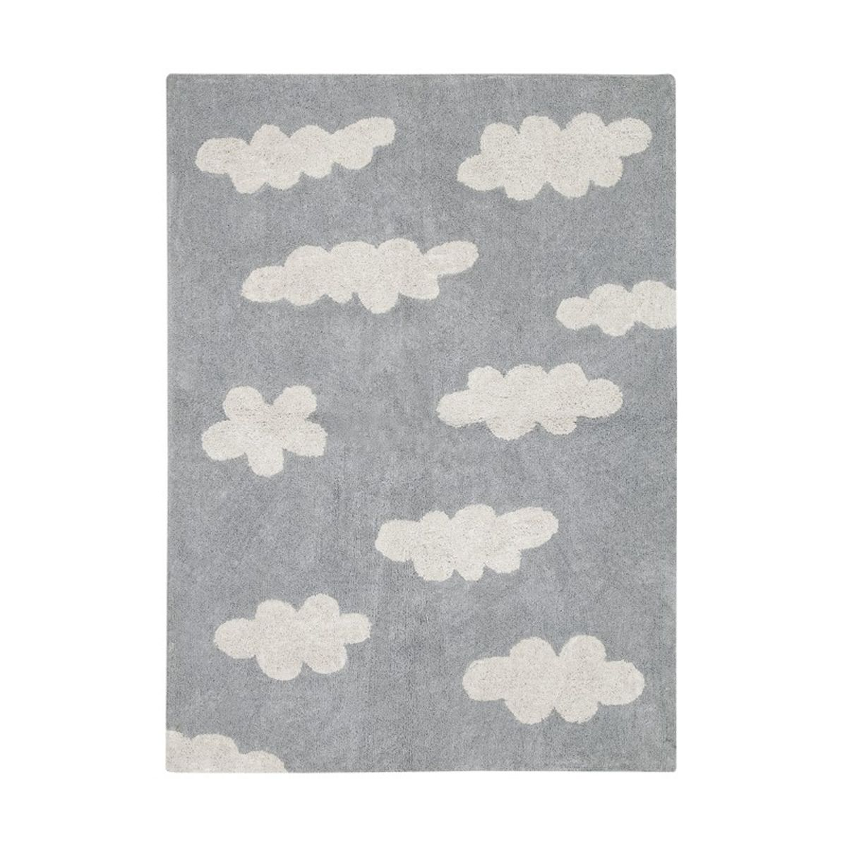 waschbarer kinderteppich wolken grau lorena canals. Black Bedroom Furniture Sets. Home Design Ideas