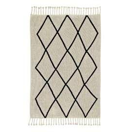 Kinderteppich  Bereber Beige , 80 x 230 cm oder 140 x 200 cm, 100% Baumwolle, waschbar, Lorena Canals