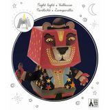 Lustiges Nachtlicht  Arty Bear , aus Papier, 21 x 27 x 12,5 cm, von Djeco
