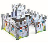 Geniale Burg Mittelalter  Medieval Castle 3D , 31 Teile, 45 x 37 x 30 cm, aus Pappe, von Djeco