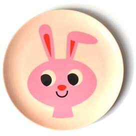 Kindergeschirr Teller  Bunny , aus Melamin, Ingela P. Arrhenius für OMM Design