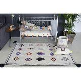 Teppich  Naador , 140 x 200 cm, 100% Baumwolle, waschbar, Lorena Canals