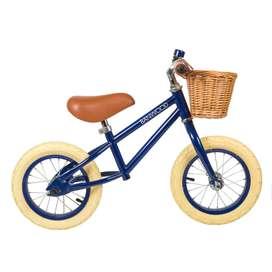 Laufrad Balance Bike,  First Go , in navy blue, ab 2,5 Jahren, von Banwood