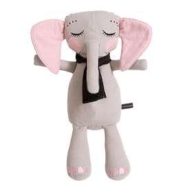Niedlicher Kuschel Elefant, 50 cm, in grau, aus Bio Baumwolle, von roommate