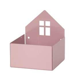 Aufbewahrung für Pixibücher,  Town Box , in violett, aus Metall, von roommate
