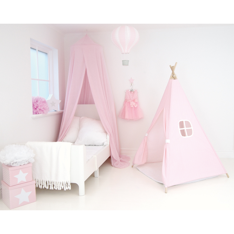kinderzimmer baldachin spielzelt pink jabadabado. Black Bedroom Furniture Sets. Home Design Ideas