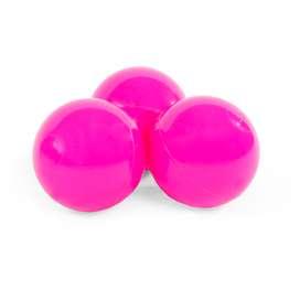 Bälleset für die Bällebäder, 50 Bälle, in der Farbe pink, von Misioo