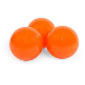 Bälleset für die Bällebäder, 50 Bälle, in der Farbe orange, von Misioo