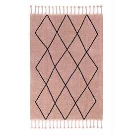 Teppich  Bereber Vintage , 140 x 200 cm, in nude, waschbar, Lorena Canals