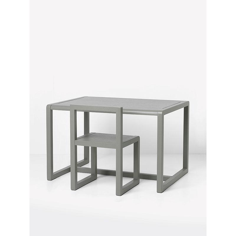 kindertisch grau ferm living. Black Bedroom Furniture Sets. Home Design Ideas