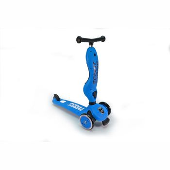 Geniales 2-in-1 Laufrad und Scooter, Highwaykick1, blau, ab 1 Jahr, von Scoot and Ride