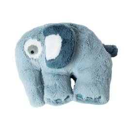 Niedliches Plüschtier, Elefant, in blau, 22 cm, von sebra
