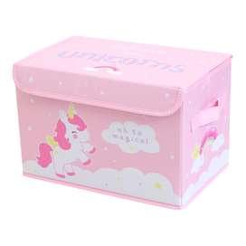 Pop Up Aufbewahrungsbox fürs Kinderzimmer, Einhorn, 38 x 24,5 x 23,5 cm, von A Little Lovely Company