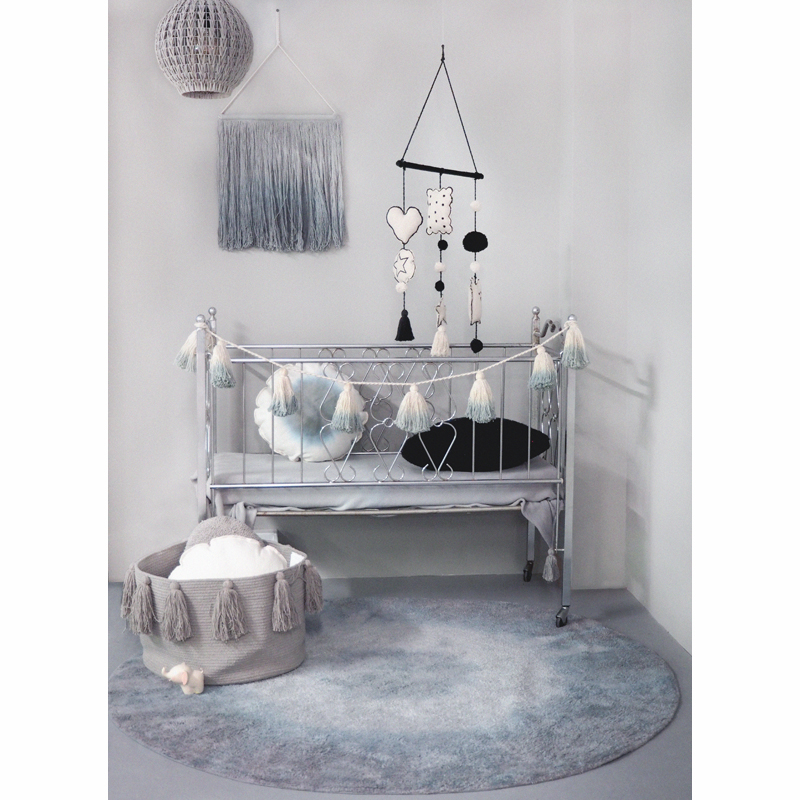 waschbarer teppich tie dye blau lorena canals. Black Bedroom Furniture Sets. Home Design Ideas