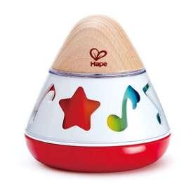 Farbiger Musikkreisel für Babys und Kleinkinder, von Hape