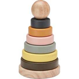 Ringturm Stapelturm  Neo , aus Holz, von Kids Concept