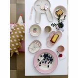 6 teiliges Kindergeschirr Set  Amelia , in rose, von Bloomingville