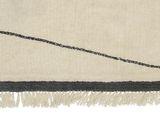Wollteppich im Berberstil mit Rauten aus reiner Wolle, 300 x 200 cm, natur, von Bloomingville