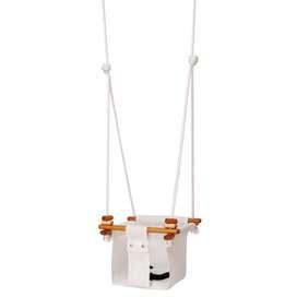 Indoor und Outdoor Baby- und Kinderschaukel  Baby & Toddler Swing , in merino white, 0 bis 6 Jahre, von Solvej Swings