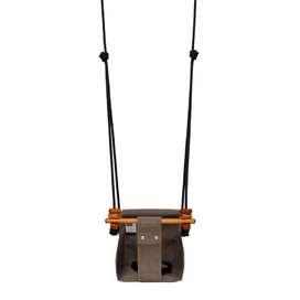 Indoor und Outdoor Baby- und Kinderschaukel  Baby & Toddler Swing , in classic taupe, 0 bis 6 Jahre, von Solvej Swings